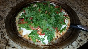 Fresh Mozzarella Pizza and Nutrient Analysis Included for Recipe