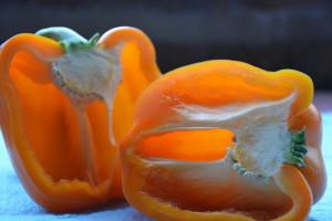 Bright orange pepper1
