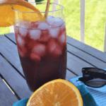 Tropical Pomegranate Seltzer